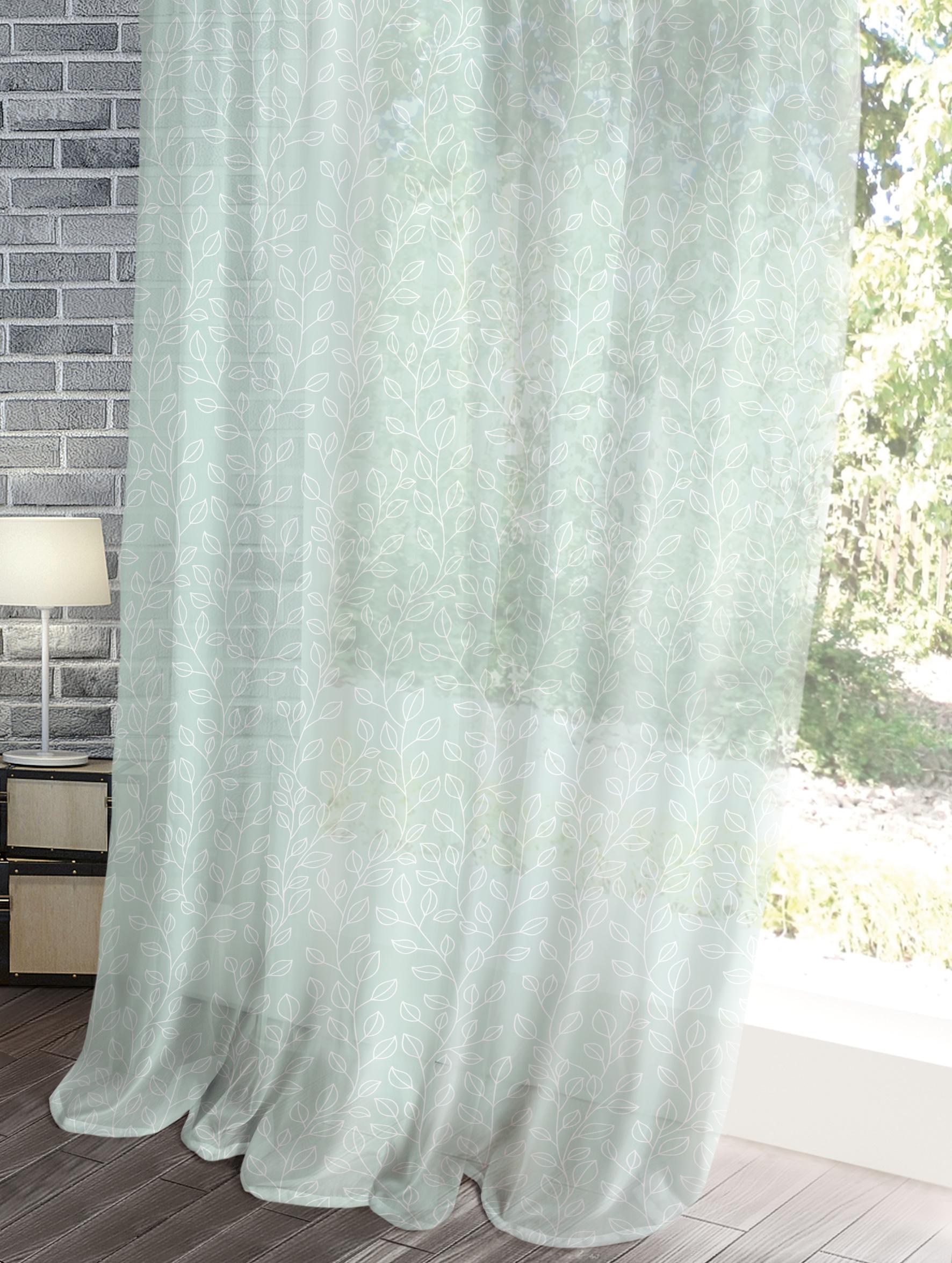 Комплект штор Волшебная ночь Лофт, цвет: ментоловый, 150 x 270 см, 2 шт цена