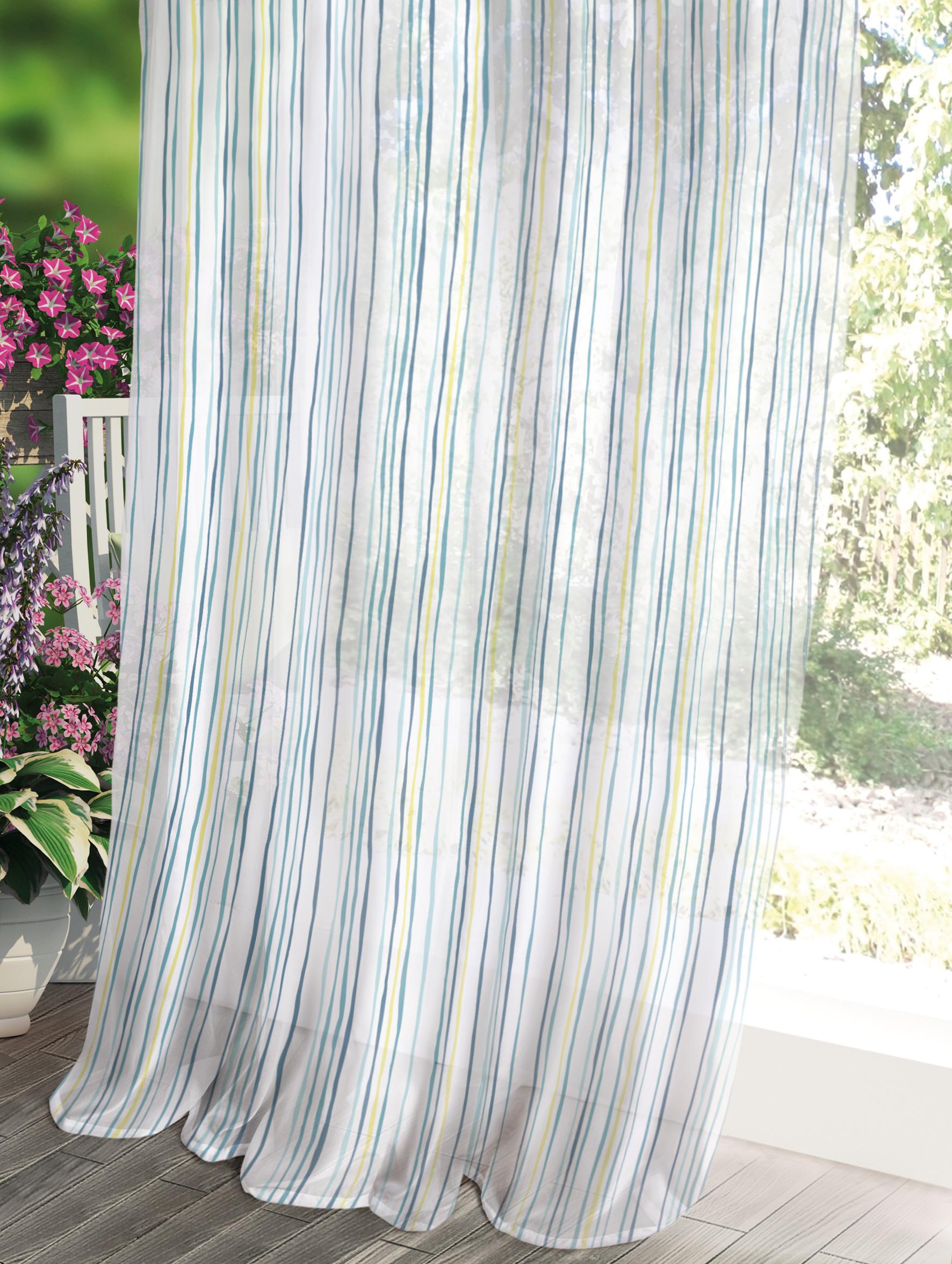 Штора Волшебная ночь Прованс, цвет: белый, 150 x 270 см штора волшебная ночь прованс цвет светло серый 150 x 270 см