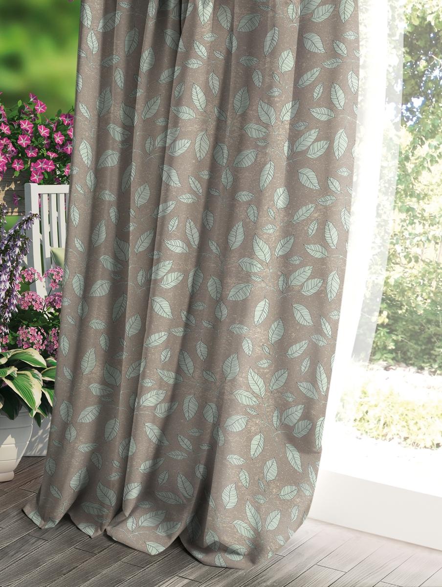 Штора Волшебная ночь Прованс, цвет: коричневый, 150 x 270 см штора волшебная ночь прованс цвет светло серый 150 x 270 см