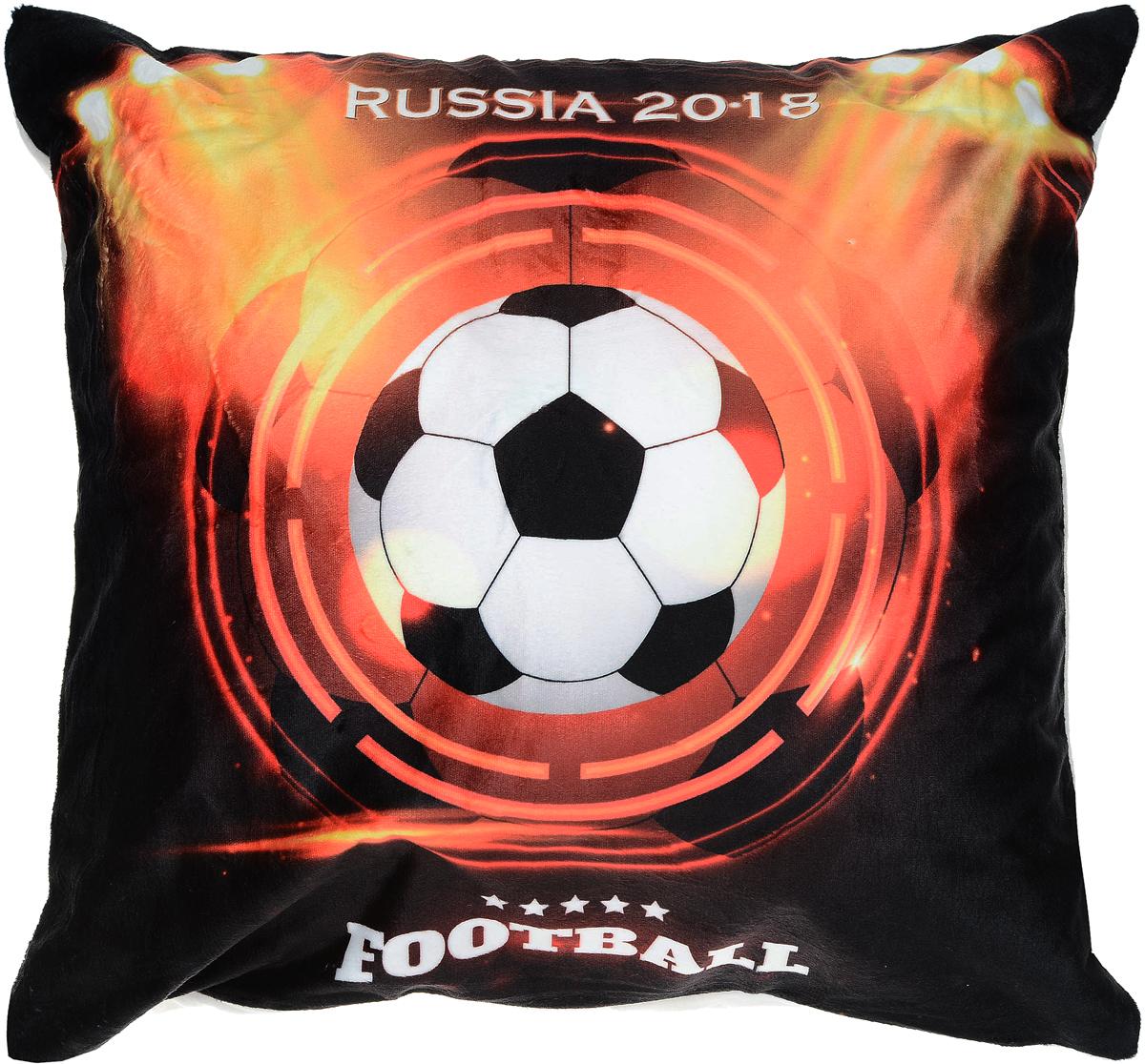 Подушка декоративная Led Russia 2018, со светодиодами, 40 х 40 см. 175062 подушка декоративная home queen 40 х 40 см