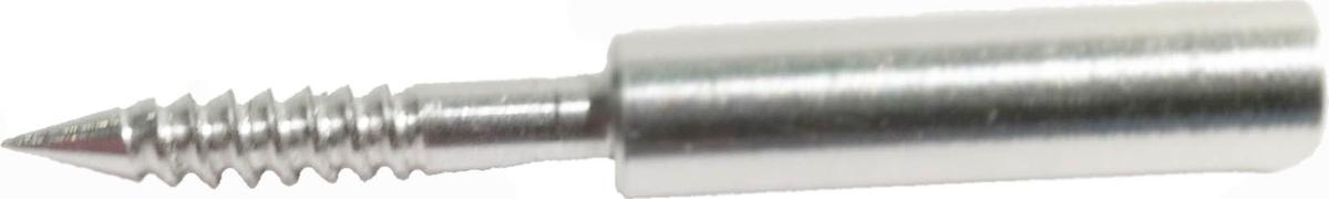 Адаптер-иголка A2S GUN №4, дюраль, резьба мама, дюймовая, 5/40 для StilCrin, MegaLine, Nimar,