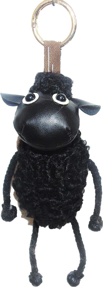 Брелок Vebtoy Овечка, цвет: черный. БР-1008 брелки