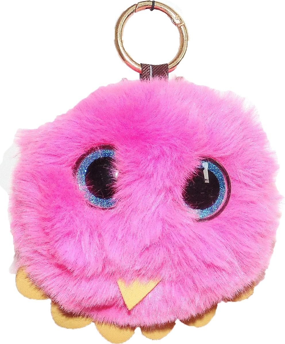 Брелок Vebtoy Пушистый совенок, цвет: розовый. БР-707 брелки