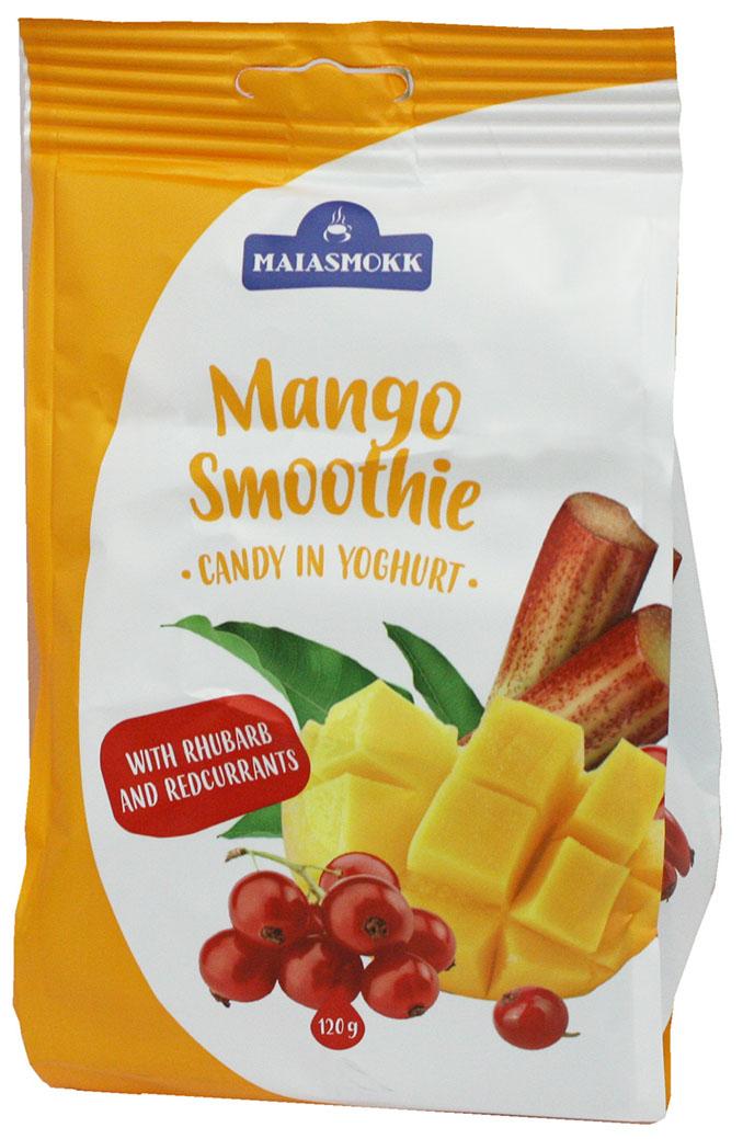 цена Maiasmokk конфеты с манго ревенем и красной смородиной в йогуртовой глазури, 120 г онлайн в 2017 году