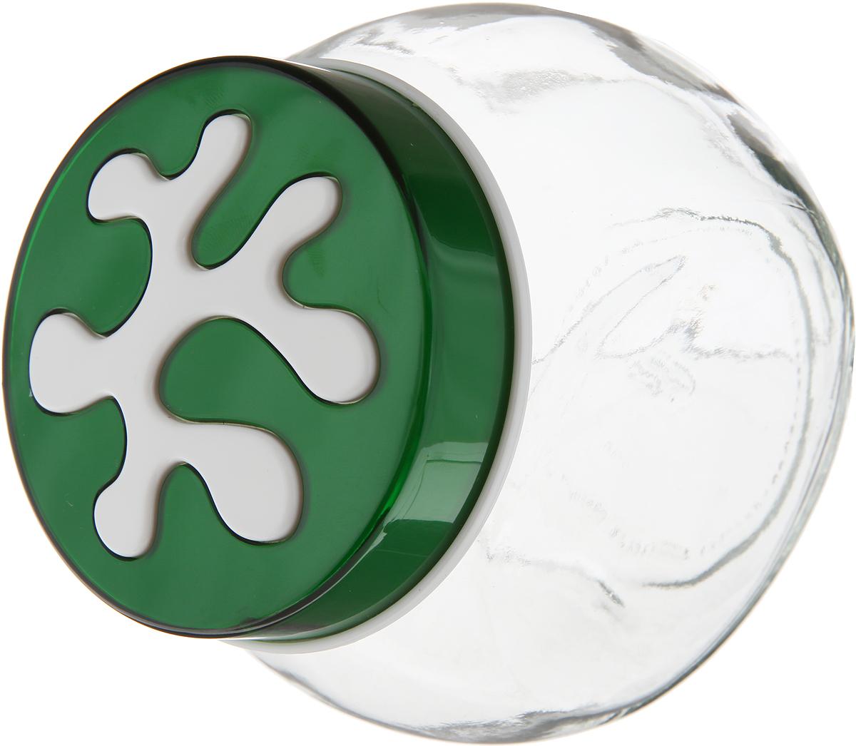 Банка для сыпучих продуктов Herevin, 750 мл. 135908-000, цвет: зеленый банка для сыпучих продуктов herevin цвет светло розовый прозрачный 660 мл 140367 500