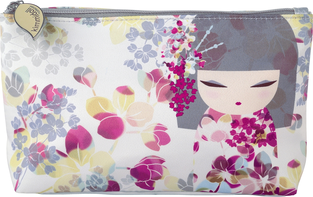 Косметичка женская Kimmidoll, цвет: розовый. KF1186 косметичка женская kimmidoll цвет розовый kf1193
