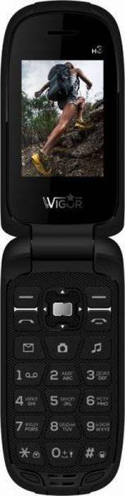 Мобильный телефон Wigor H3 DS, черный цены