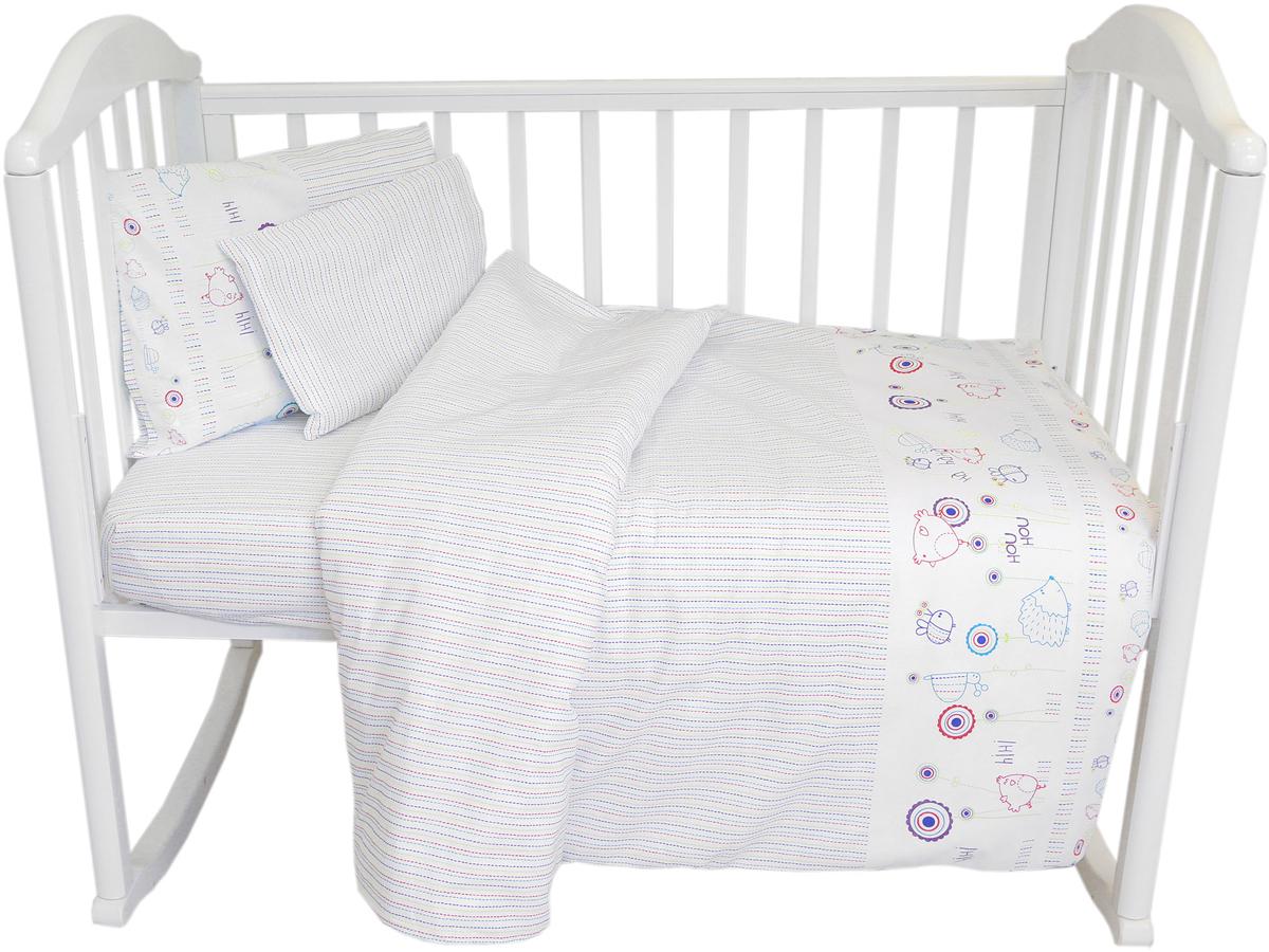 Baby Nice Комплект в кроватку Ежик постельное белье для малышей baby nice наволочка baby nice 60х40