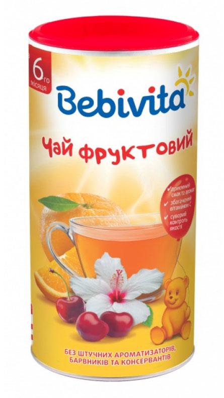 все цены на Bebivita Фруктовый чай гранулированный, с 6 месяцев, 200 г онлайн