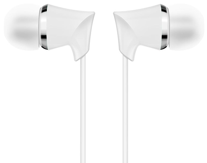 лучшая цена Borofone BM3, White наушники с микрофоном