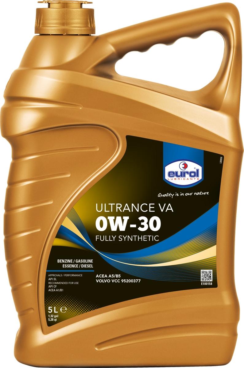 Масло моторное Eurol Ultrance VA 0W-30 Volvo, синтетическое, 5 л