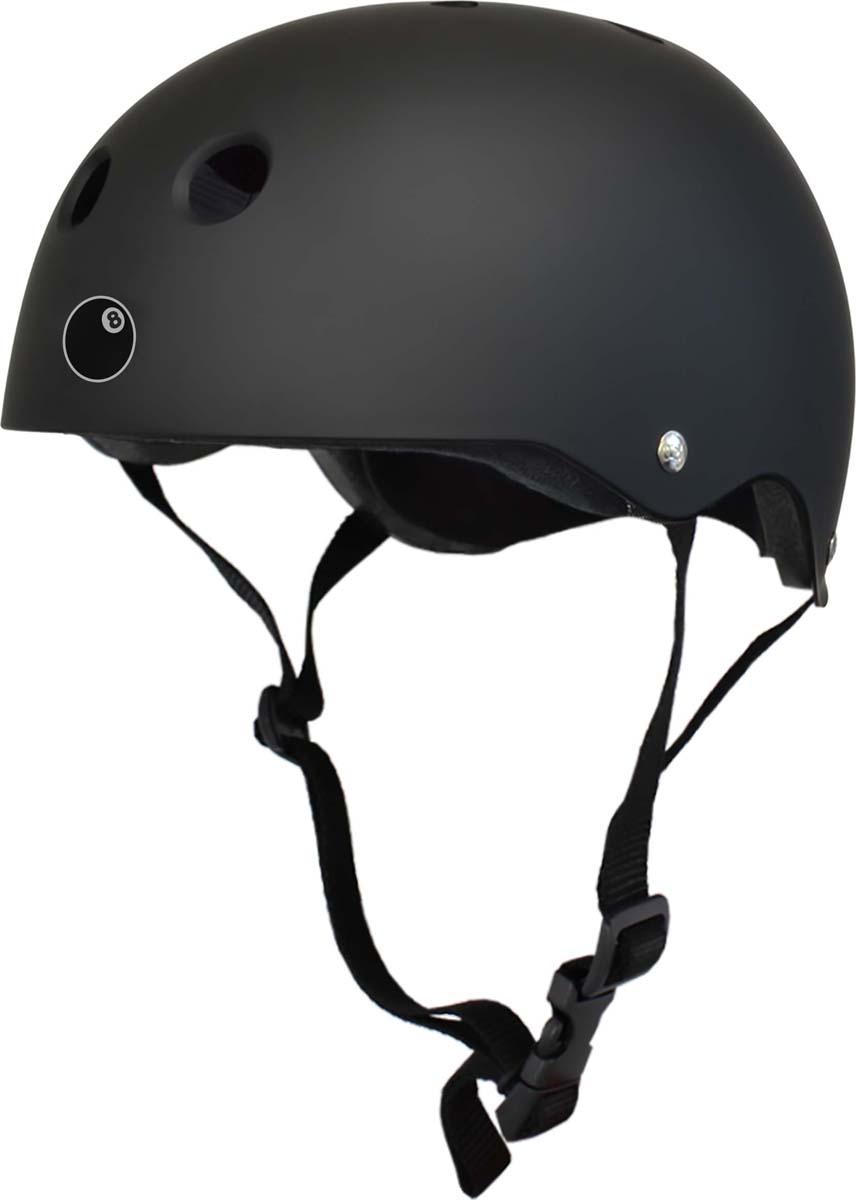 цена на Шлем Eight Ball, цвет: черный, размер L (8+)