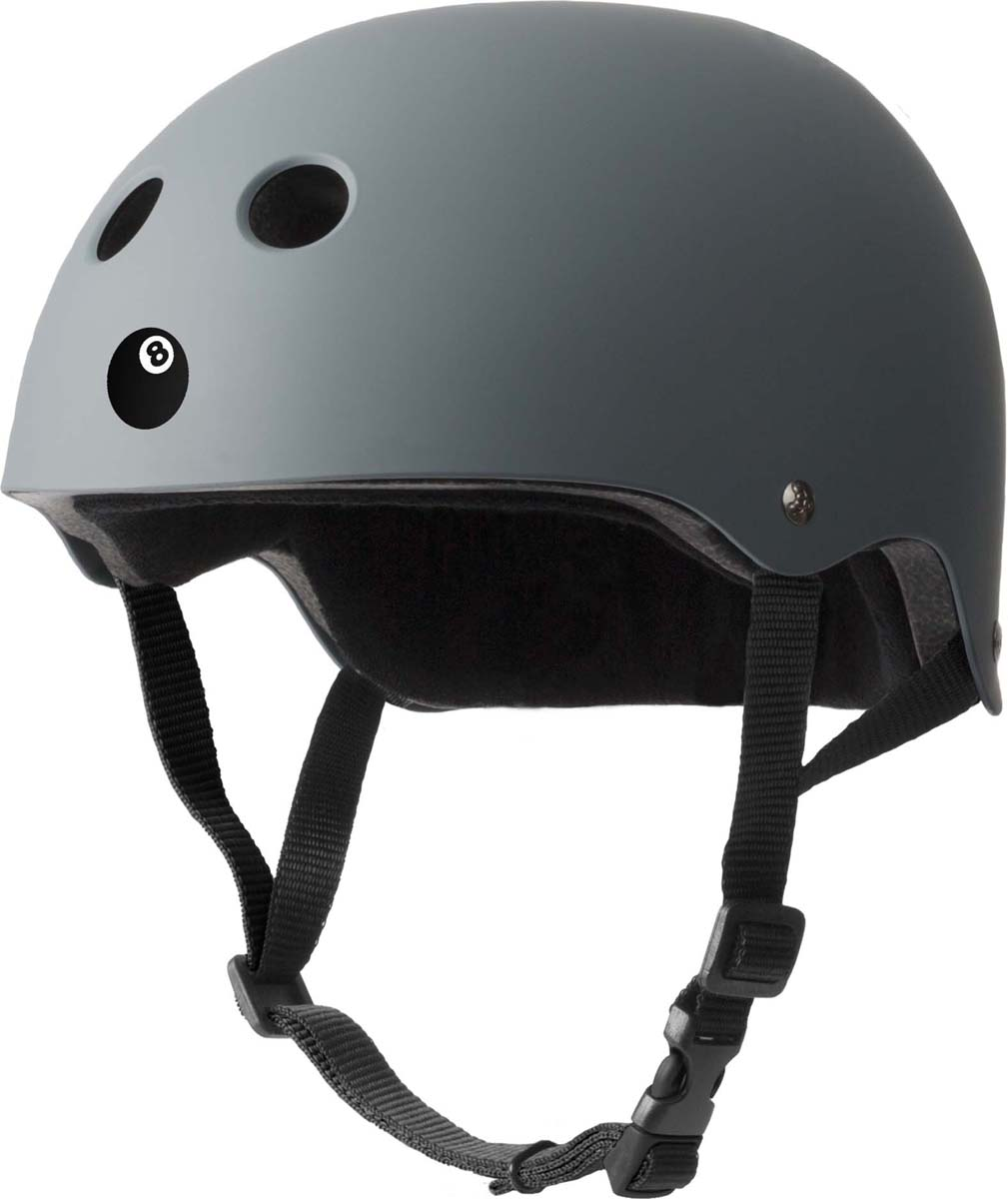 Шлем Eight Ball, цвет: серый. Размер L (8+) babyonlinedress серый сша 8 великобритания 12 ес 38