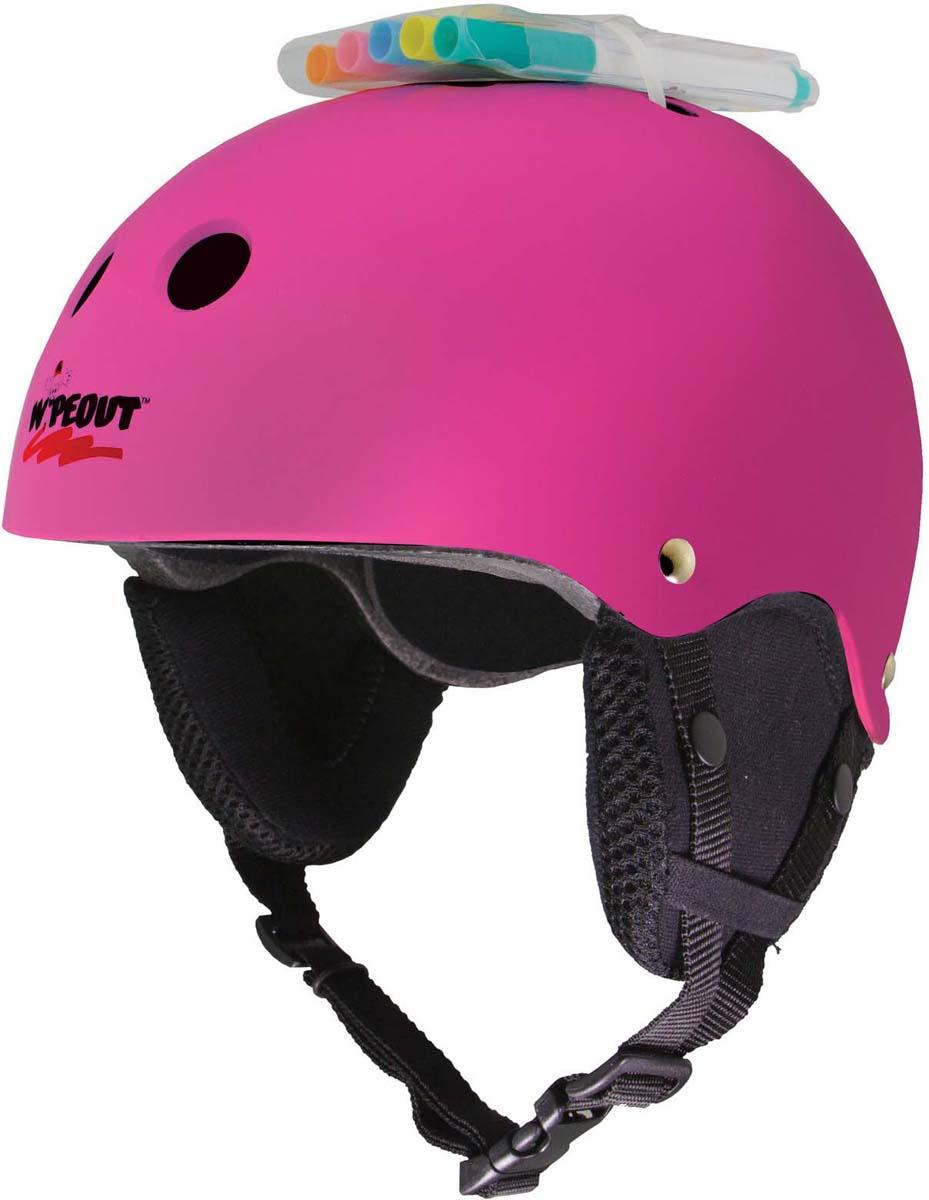 Зимний шлем Wipeout, с фломастерами, цвет: розовый. Размер M (5+)