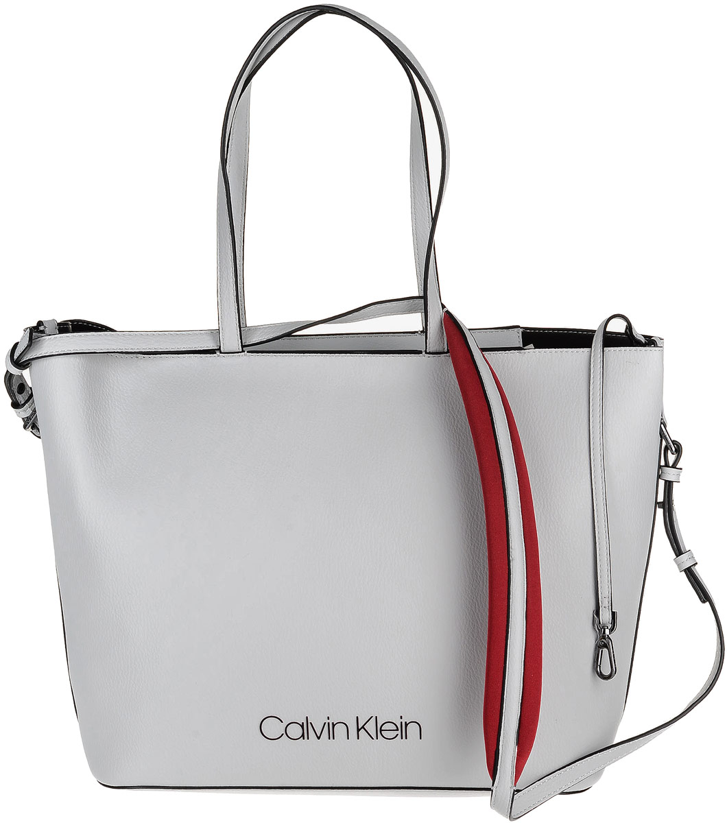 7d6462e5cef8 Сумка женская Calvin Klein Jeans, цвет: светло-серый. K60K604286/002 —  купить в интернет-магазине OZON.ru с быстрой доставкой