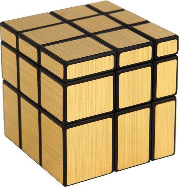 Tacheng Головоломка Зеркальный Кубик цвет золотой