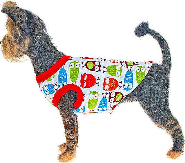 "Майка для собак Happy Puppy ""Совята""-3"