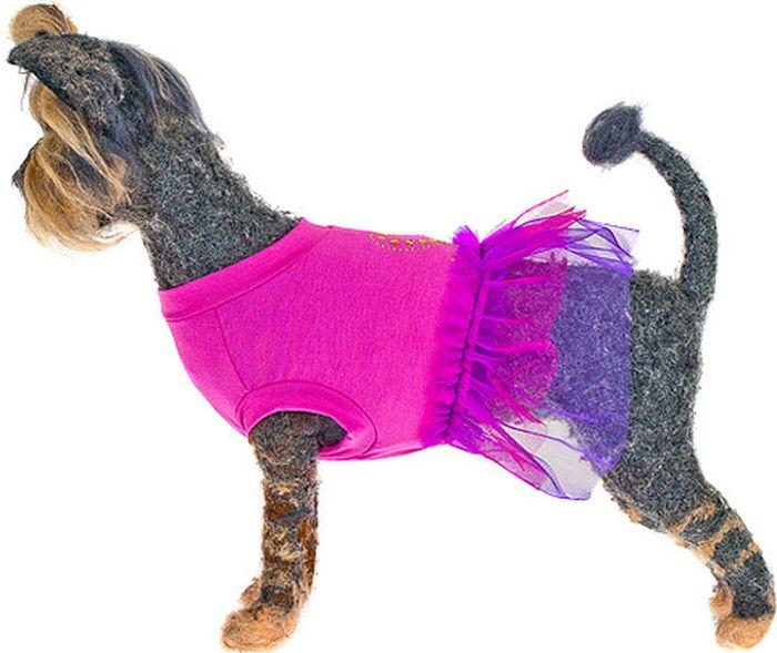 Платье для собак Happy Puppy Айседора, для девочки. Размер 4 (XL)