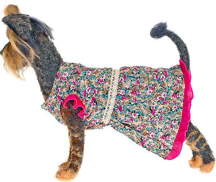 """Платье для собак Happy Puppy """"Молли"""", для девочки. Размер 3 (L)"""