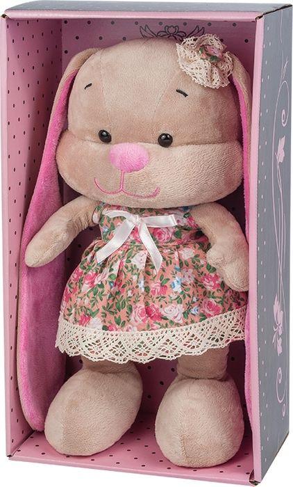 Jack & Lin Мягкая игрушка Зайка в летнем платье 25 см игрушка мягкая jack lin зайка jl 003 25