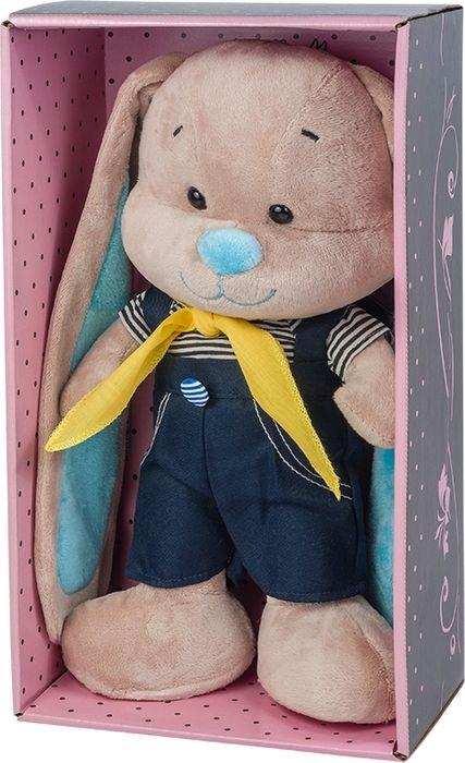 Jack & Lin Мягкая игрушка Зайчик в морском костюмчике 25 см d lin d110427