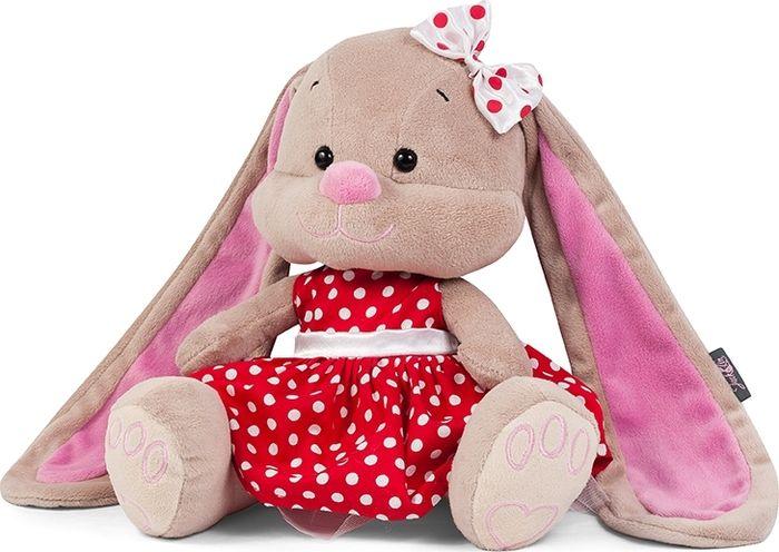 Jack & Lin Мягкая игрушка Зайка в красном платье 25 см игрушка мягкая jack lin зайка jl 003 25
