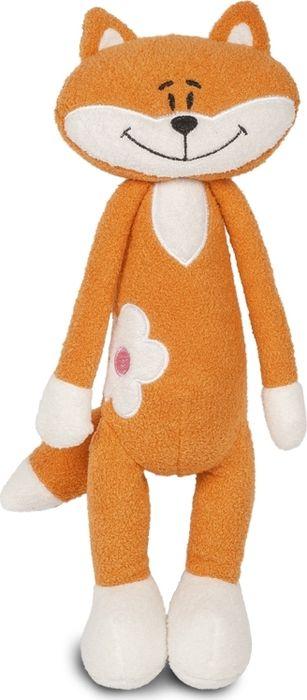 Maxitoys Luxury Мягкая игрушка Лисичка с цветочком