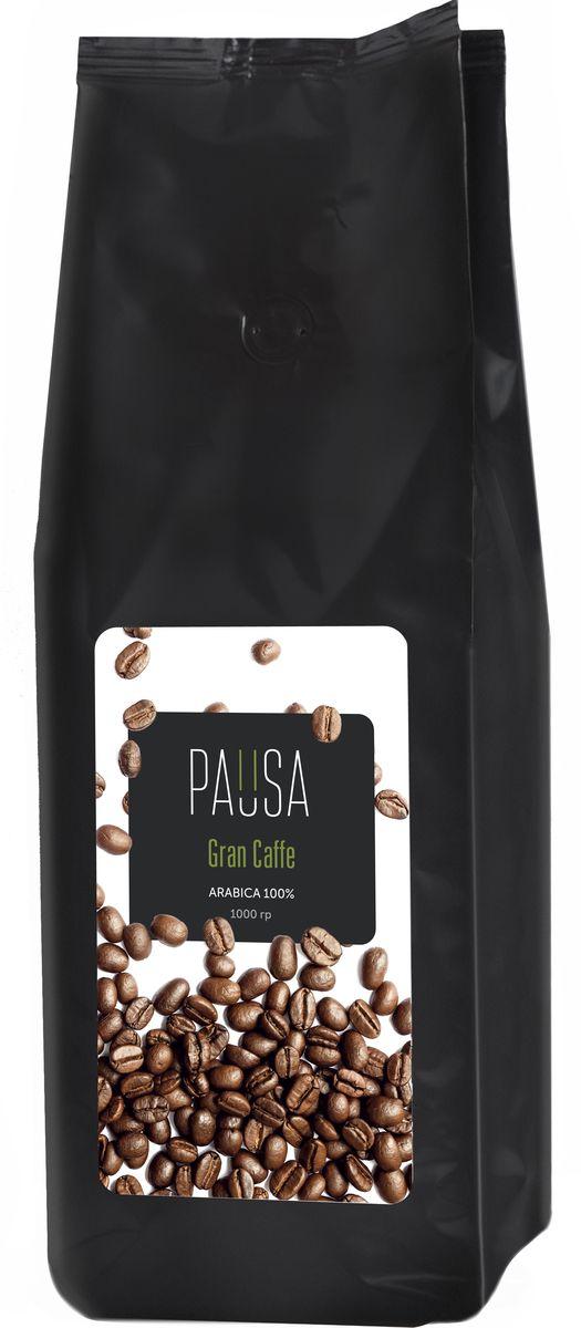 Pausa Gran Caffe Перу 100% арабика кофе в зернах, 1 кг pausa aroma bar кофе в зернах 1 кг