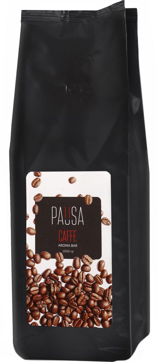 Pausa Aroma Bar кофе в зернах, 1 кг pausa aroma bar кофе в зернах 1 кг
