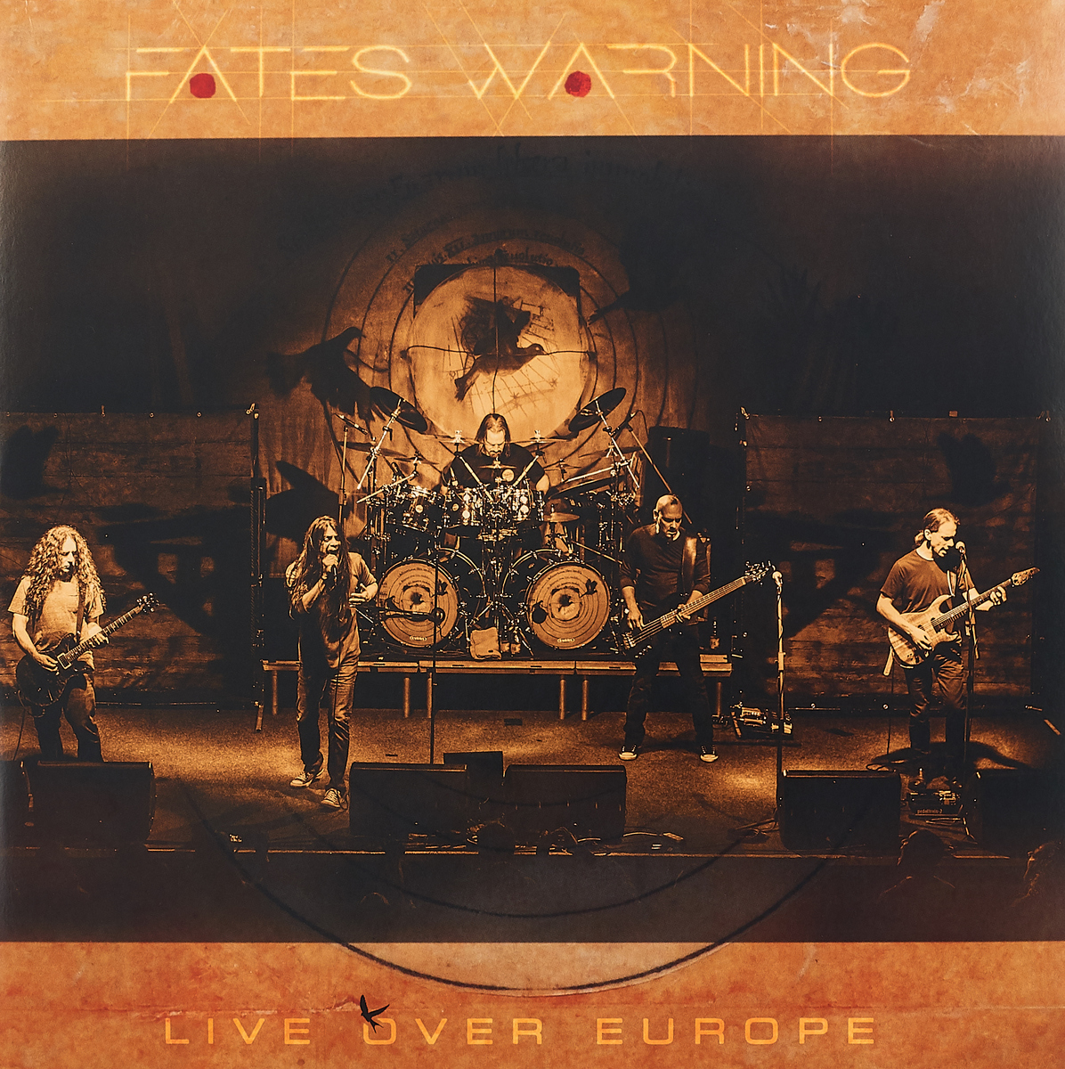 Fates Warning Fates Warning. Live Over Europe (3 LP+2 CD)