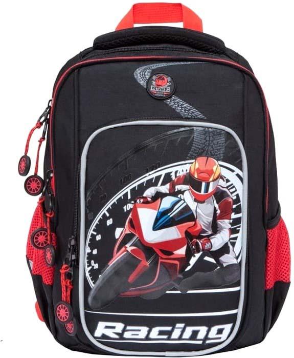 18b88aefe907 Grizzly Рюкзак школьный цвет черный RB-861-1/4 — купить в интернет-магазине  OZON.ru с быстрой доставкой
