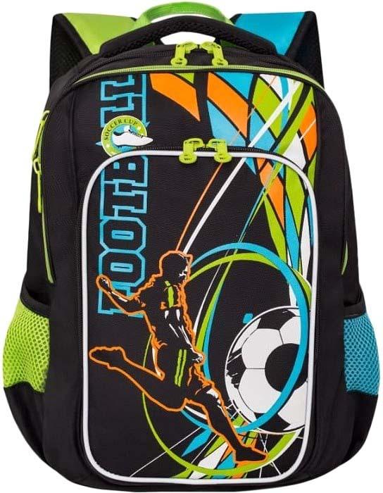 цены на Grizzly Рюкзак школьный цвет черный RB-861-2/1  в интернет-магазинах