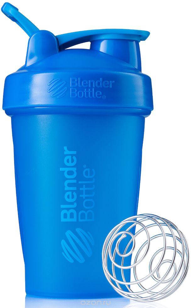 "Шейкер спортивный BlenderBottle ""Classic Full Color"", цвет: голубой, 591 мл"