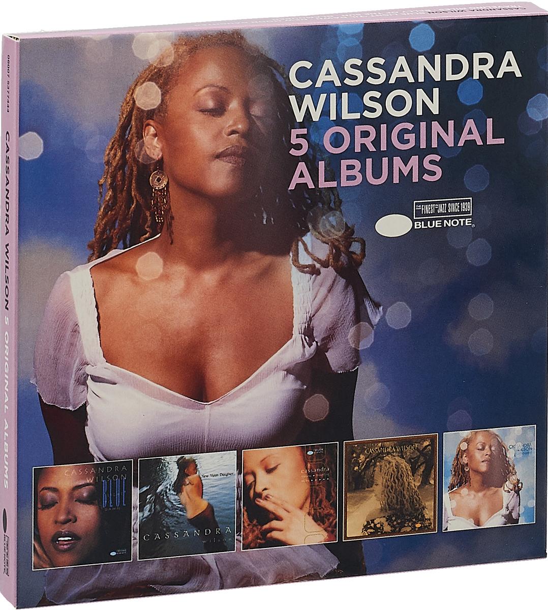 Кассандра Уилсон Wilson Cassandra. Original Albums (5 CD) cassandra wilson cassandra wilson loverly