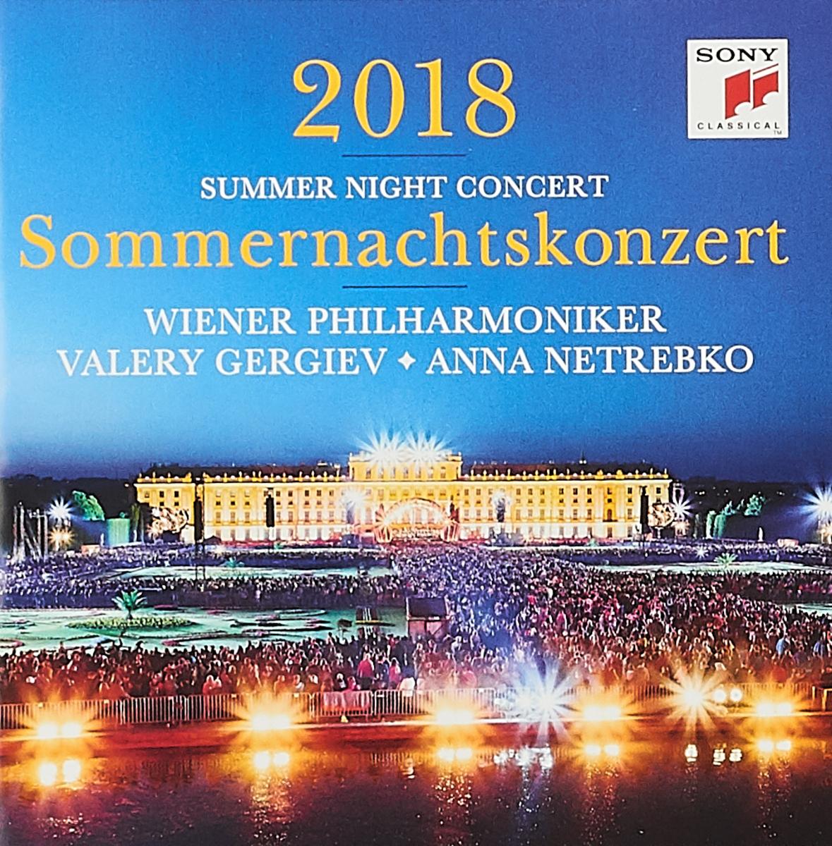 Vienna Philharmonic, Valery Gergiev, Anna Netrebko. Summer Night Concert 2018. Sommernachtskonzert