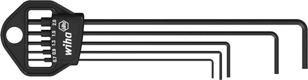 Набор ключей Wiha Classic, Г-образные SW, 5 предметов