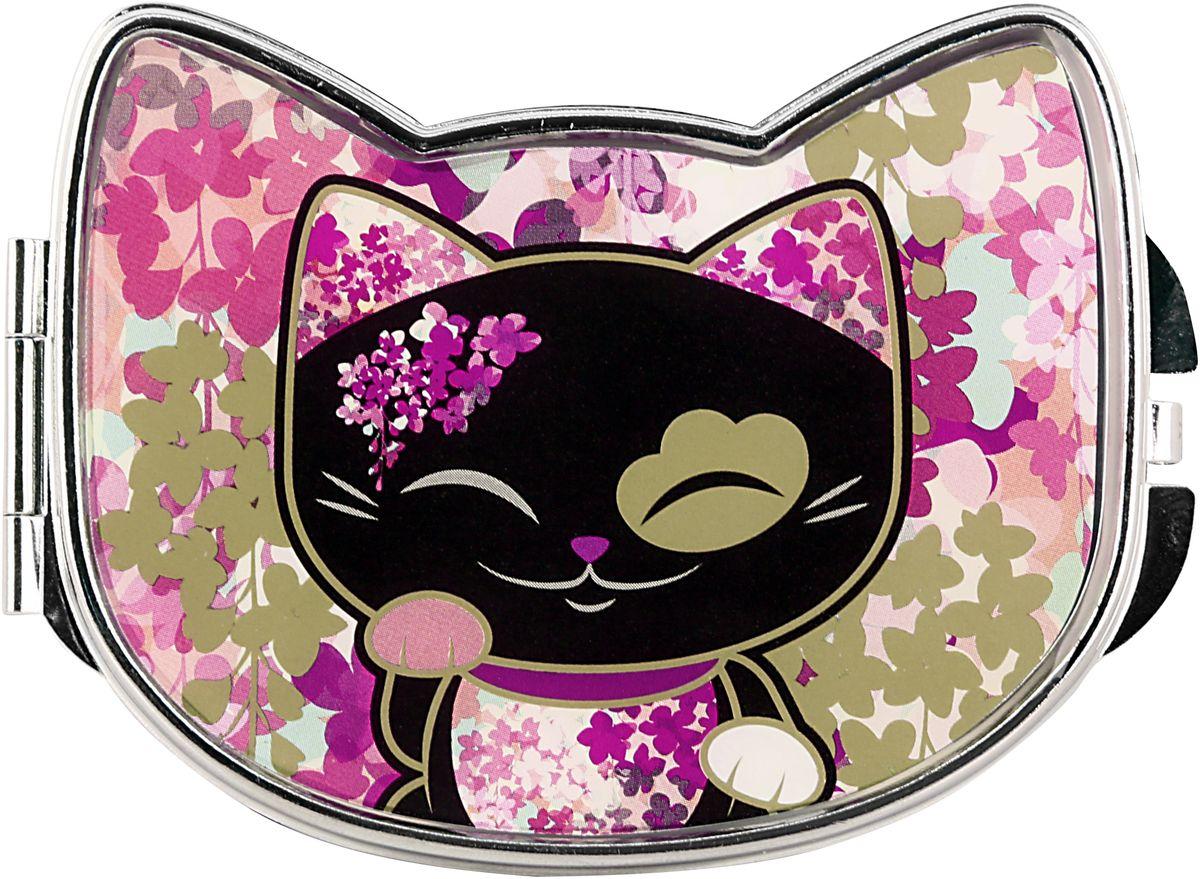 Зеркало карманное Mani The Lucky Cat Кот Удачи. Код MF084 код твоей удачи