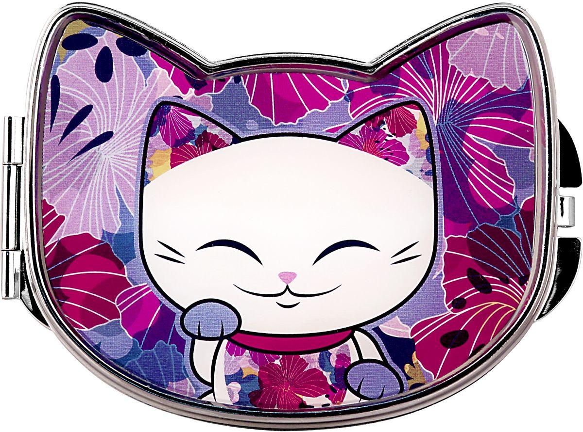 Зеркало карманное Mani The Lucky Cat Кот Удачи. Код MF086 код твоей удачи