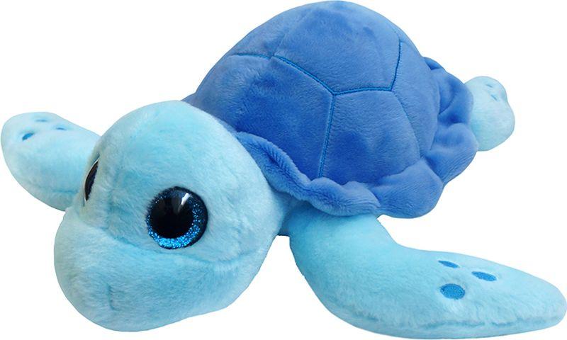 Maxitoys Luxury Мягкая игрушка Черепаха цвет синий 22 см