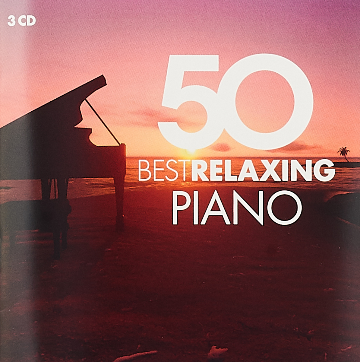 Various Artists 50 Best Relaxing Piano (3 CD) various artists romantic piano adagios 2 cd