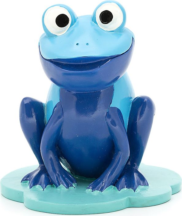 """Подставка для очков """"Лягушка"""", цвет: голубой, фиолетовый, 9 х 8,8 х 9,8 см"""