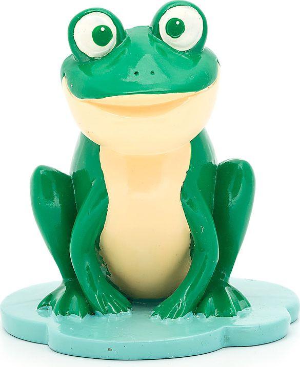 "Подставка для очков ""Лягушка"", цвет: бежевый, зеленый, 9 х 8,8 х 9,8 см"