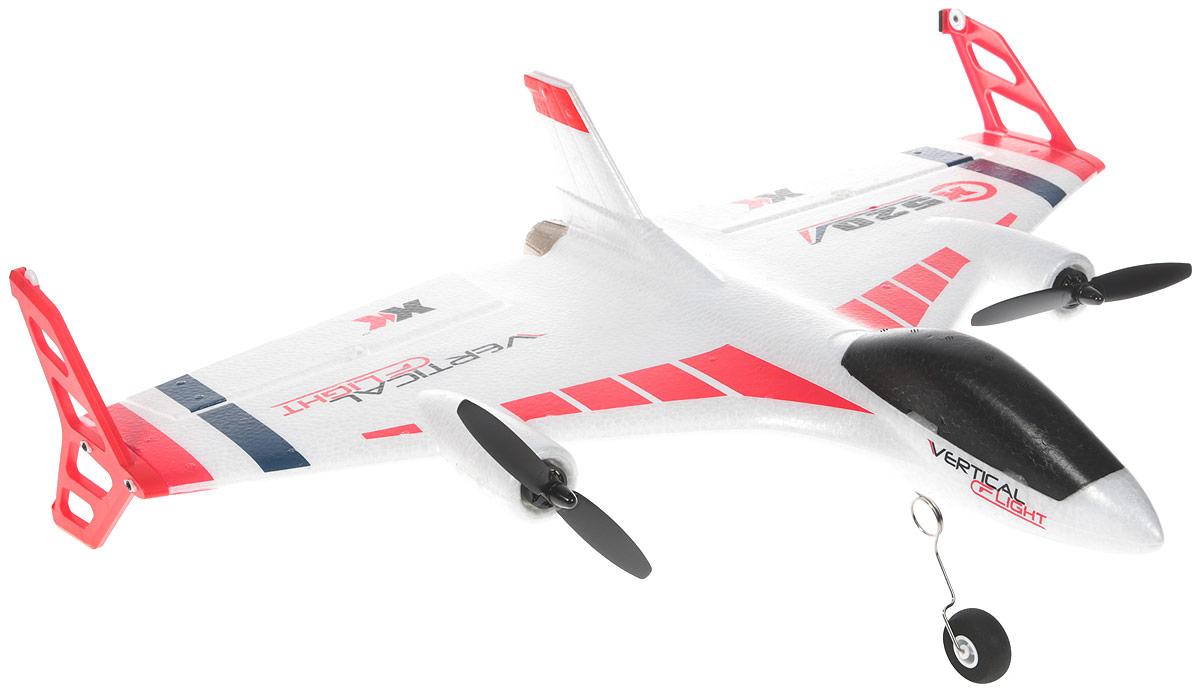 Wltoys Самолет на радиоуправлении X520 цвет белый цена