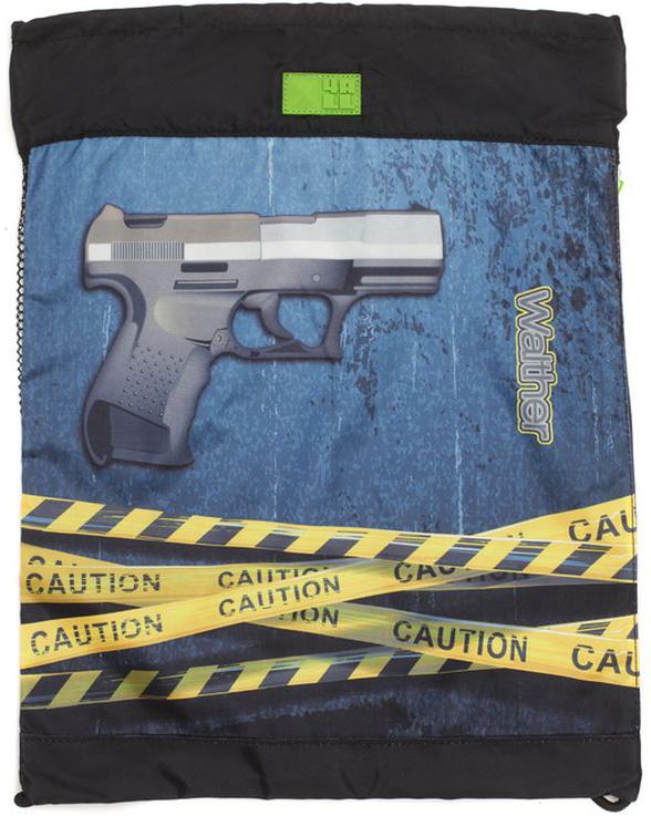 4ALL Сумка для сменной обуви School Пистолет цена и фото