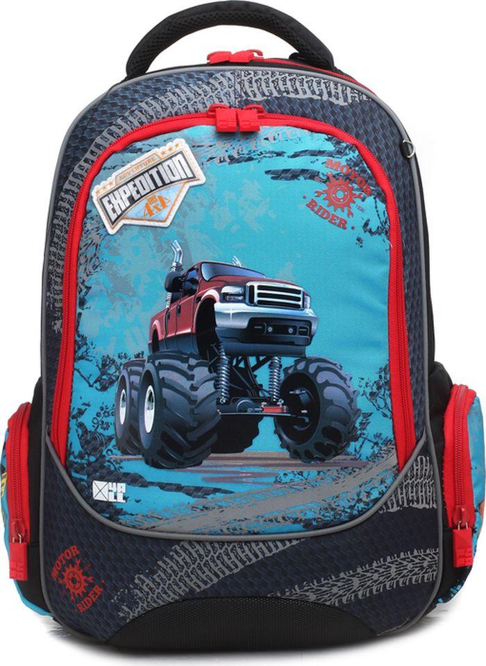 4ALL Ранец школьный School Машина цена и фото