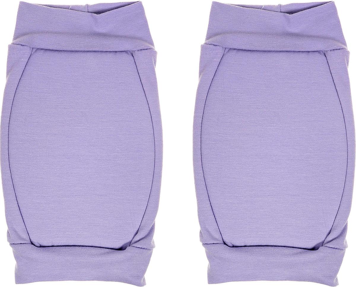 цена Наколенники для гимнастики и танцев Indigo, цвет: фиолетовый, 2 шт. Размер XS онлайн в 2017 году