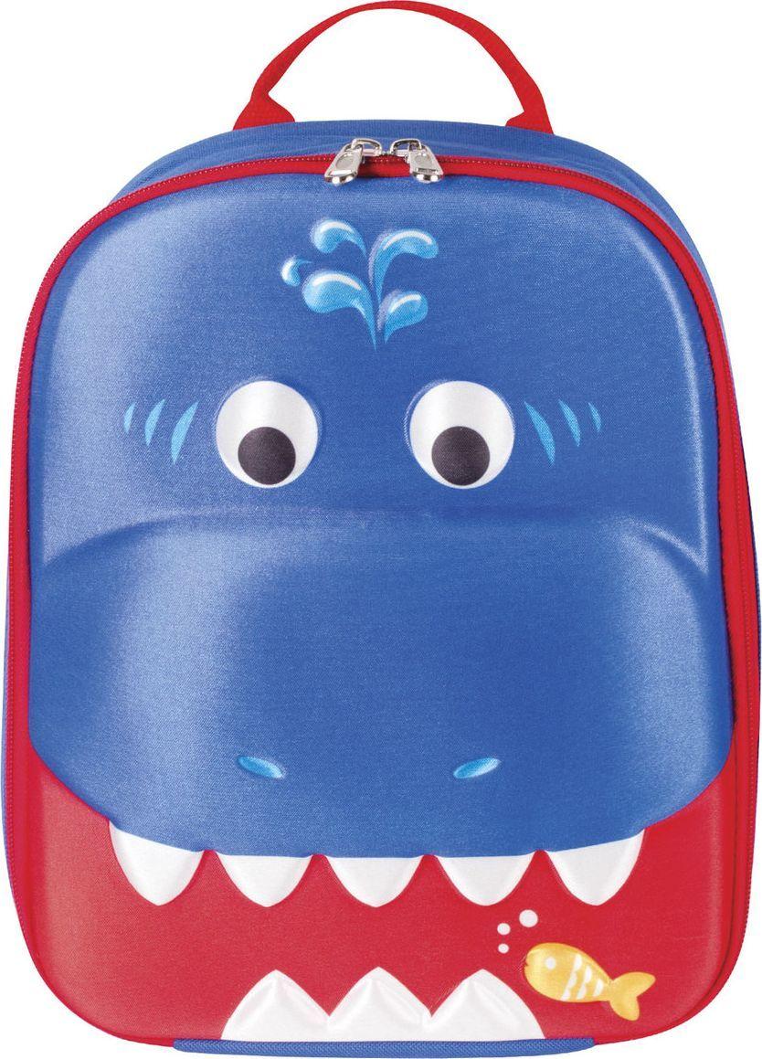 Brauberg Рюкзак дошкольный Акула цвет синий 227065