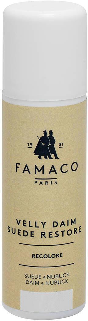 Краска для замши и нубука, Famaco, коричневая, 75 мл цена и фото