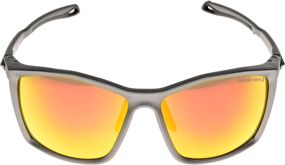 Велосипедные очки Alpina Twist Five Cm+, цвет оправы: серебристый