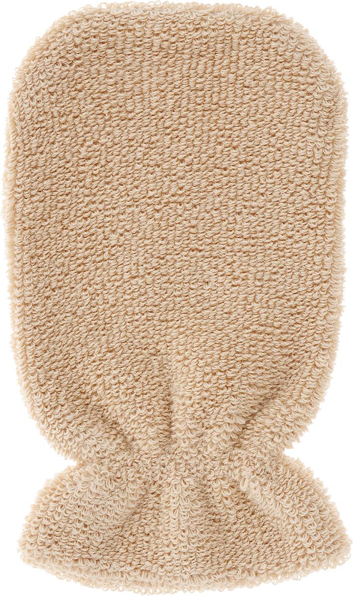 Мочалка-рукавица Riffi, мягкая, цвет в ассортименте мочалка рукавица riffi мягкая цвет бежевый